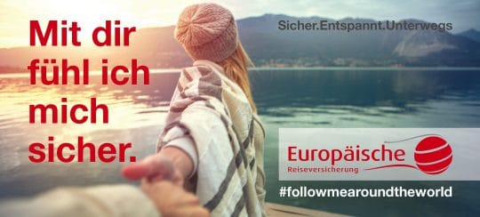 Referenz Grafikdesign von Europäische Reiseversicherung