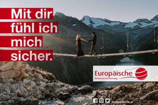 """Referenz Europäische - Kampagne """"Mit dir fühl ich mich sicher."""""""