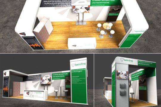 Referenz 3D-Grafikdesign von Keimfrei