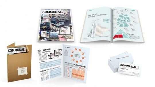 Referenz Grafikdesign von Kommunal.de