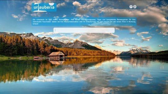 Referenz Website von Urlauberia